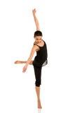 Bailarín de sexo femenino de la bailarina imagen de archivo libre de regalías