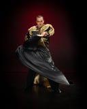 Bailarín de sexo masculino. Imagen de archivo libre de regalías