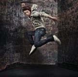 Bailarín de sexo masculino imagen de archivo libre de regalías