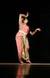 Bailarín de sexo masculino indio Kuchipudi Haleem khan Imagenes de archivo