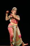 Bailarín de sexo masculino indio Kuchipudi Haleem khan Foto de archivo libre de regalías