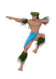 Bailarín de Tahitian Imagen de archivo libre de regalías