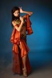 Bailarín de vientre Fotografía de archivo