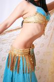 Bailarín de vientre Imágenes de archivo libres de regalías