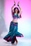 Bailarín de vientre foto de archivo