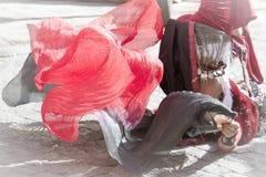 Bailarín de vientre hermoso imágenes de archivo libres de regalías