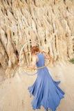 Bailarín del aro Imagen de archivo libre de regalías