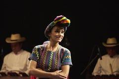 Bailarín del ballet Moderno Y Nacional folclórico de Guatemala Imagen de archivo libre de regalías