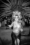 Bailarín del cabaret Fotografía de archivo libre de regalías