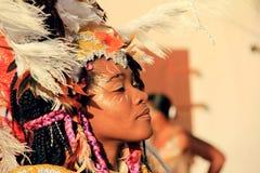 Bailarín del carnaval Fotos de archivo libres de regalías