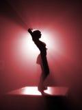 Bailarín del disco Imagen de archivo libre de regalías
