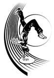 Bailarín del estilo libre libre illustration