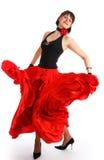 Bailarín del flamenco Imágenes de archivo libres de regalías