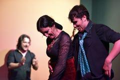 Bailarín del flamenco que realiza su demostración, Sevilla fotos de archivo libres de regalías