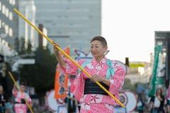 Bailarín del geisha Imagen de archivo libre de regalías