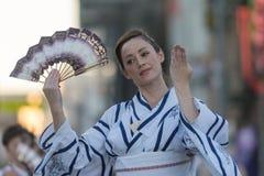 Bailarín del geisha Foto de archivo libre de regalías