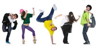 Bailarín del grupo Fotos de archivo libres de regalías