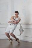 Bailarín del hip-hop Fotos de archivo