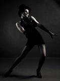 Bailarín del jazz fotografía de archivo