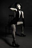 Bailarín del jazz imagen de archivo