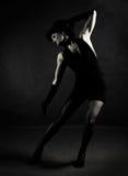 Bailarín del jazz imagenes de archivo