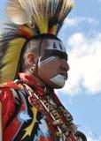Bailarín del nativo americano Fotos de archivo libres de regalías