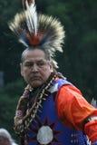 Bailarín del nativo americano Fotografía de archivo
