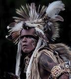 Bailarín del nativo americano Imagen de archivo libre de regalías