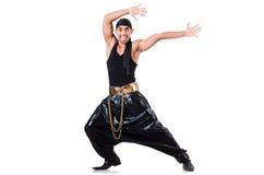 Bailarín del rap Imágenes de archivo libres de regalías