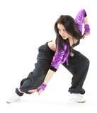 Bailarín del salto de la cadera Imagen de archivo libre de regalías