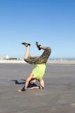Bailarín del salto de la cadera Fotografía de archivo