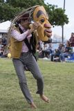 Bailarín del tótem imagen de archivo libre de regalías