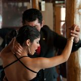 Bailarín del tango, la Argentina foto de archivo libre de regalías