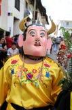 Bailarín en Cajabamba, Perú Fotos de archivo libres de regalías