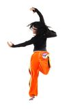 Bailarín en el salto Imágenes de archivo libres de regalías