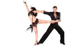 Bailarín en la acción Foto de archivo libre de regalías