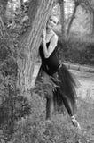 Bailarín en la pared Imagenes de archivo