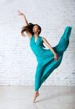 Bailarín en un estudio Imagen de archivo