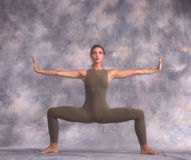Bailarín en una Y Foto de archivo libre de regalías