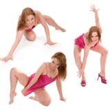 Bailarín Go-go Fotografía de archivo libre de regalías