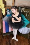 Bailarín hermoso foto de archivo