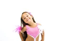 Bailarín hermoso Fotografía de archivo libre de regalías