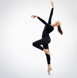 Bailarín hermoso joven fotos de archivo