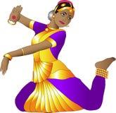 Bailarín indio Foto de archivo