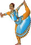 Bailarín indio Foto de archivo libre de regalías