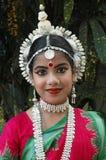 Bailarín indio de los adolescentes Imágenes de archivo libres de regalías