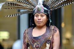 Bailarín indio mexicano Foto de archivo libre de regalías