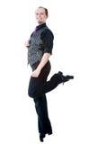 Bailarín irlandés Fotografía de archivo libre de regalías
