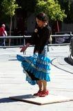 Bailarín japonés 16 del flamenco Fotos de archivo libres de regalías