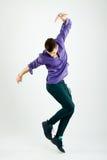 Bailarín joven con estilo Imagen de archivo